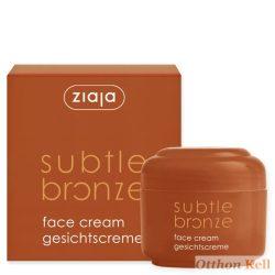 ZIAJA Subtile bronze önbarnító arckrém