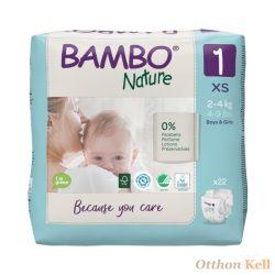 BAMBO pelenka 1, 2-4kg (22db)