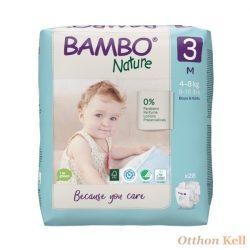 BAMBO pelenka 3, 4-8KG (28db)