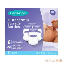 Lansinoh anyatejtároló palackok - 160 ml 4db-os