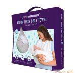 ClevaMama babatörölköző szürke