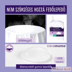 ClevaMama TENCEL matracvédő gumis lepedő 60x120