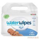 WaterWipes BIO Babatörlőkendő Value Pack - 240 db (4X60db)