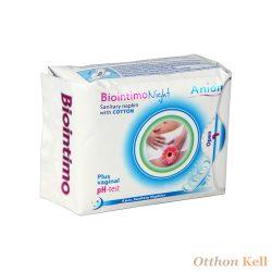 Biointimo Night - Anion tartalmú éjszakai intim betét - 8 db