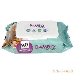 BAMBO Nature Nedves Törlő (80db)