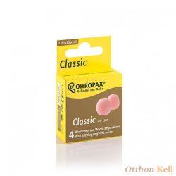 Ohropax Classic Füldugó lágy viaszból alváshoz és relaxáláshoz - 4db (2pár)