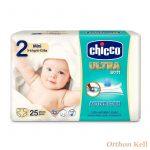 Chicco Ultrasoft pelenka - Mini - 25db