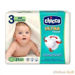 Chicco Ultrasoft pelenka - Midi - 21db